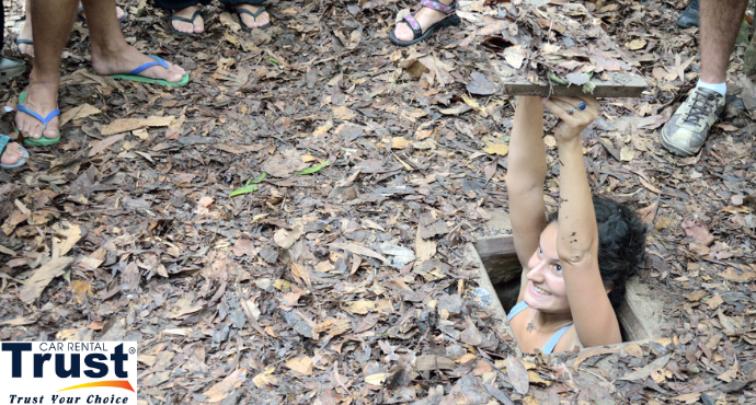 Private Car Transfers From Phu My Port To Cu Chi Tunnels Tour