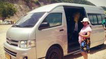 Minivan Toyota Hiace 14 seat