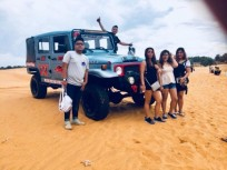 Private Car Transfers From Dalat To Muine Sand Dunes Tour