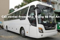 car hire from nha trang to hoi an