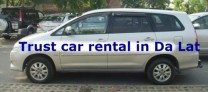 Car hire in Da lat city