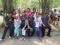 Ho Chi Minh city tour to Cu chi and Temple